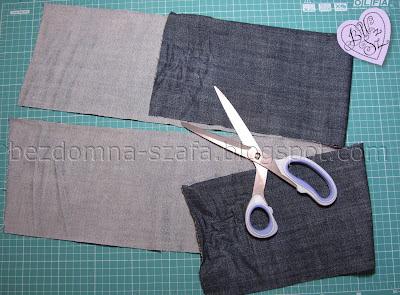 3 - skracanie spodni - tutorial - krok po kroku