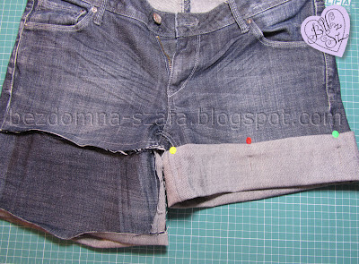 7 - skracanie spodni - tutorial - krok po kroku