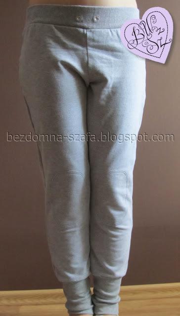 przerabianie spodni dresowych 0