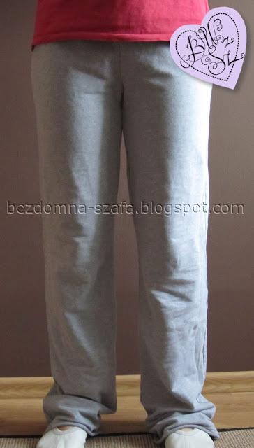 przerabianie spodni dresowych 1