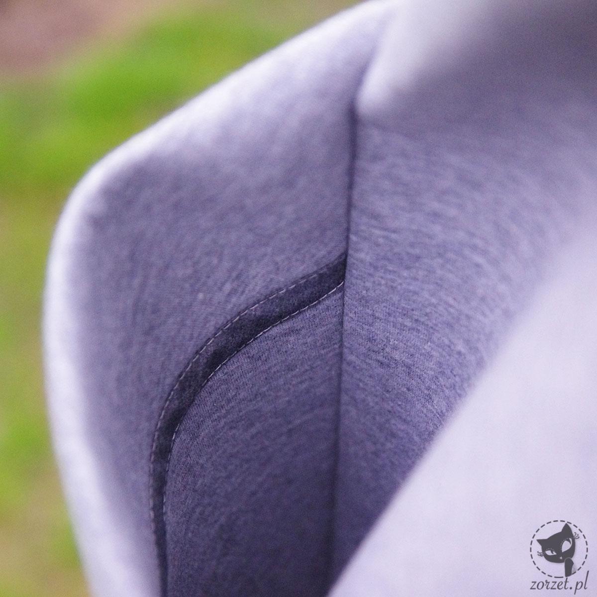 płaszcz z pianki, kieszeń wnętrze